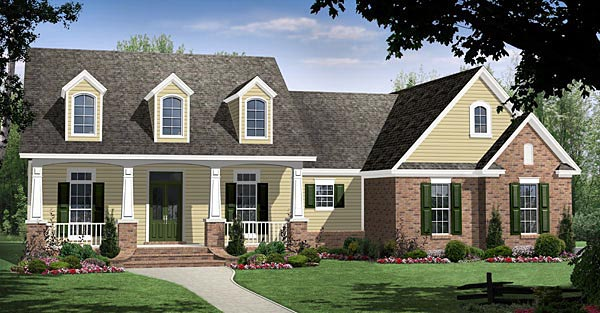 Traditional House Plan 59186