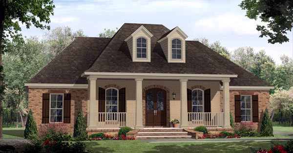 Traditional House Plan 59203