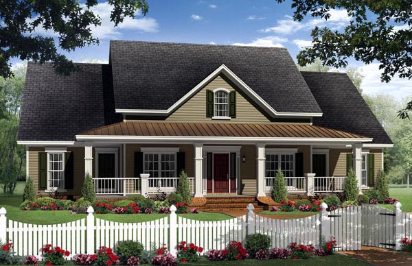 Southern House Plan 59205