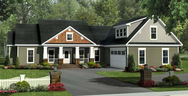 Traditional House Plan 59212