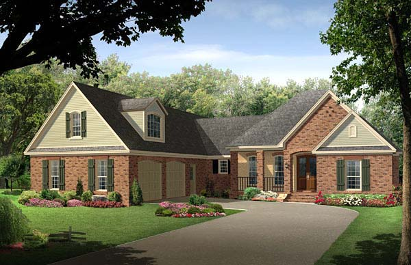 Country European Traditional House Plan 59215 Elevation