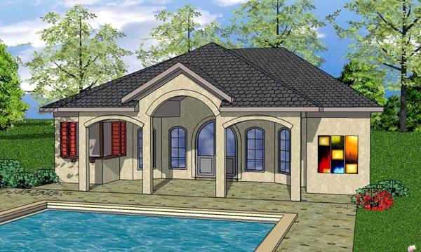 Cottage Craftsman House Plan 59339 Elevation