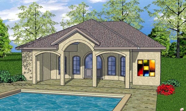 House Plan 59345 Craftsman Style With