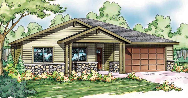 Ranch House Plan 59417