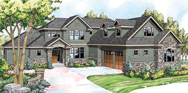 Cape Cod Cottage European Traditional House Plan 59425 Elevation