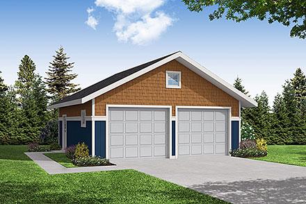 Garage Plan 59442
