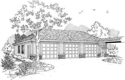 Garage Plan 59447