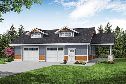 Garage Plan 59457