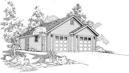 Garage Plan 59462