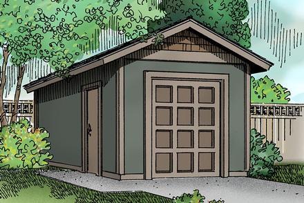 Garage Plan 59463