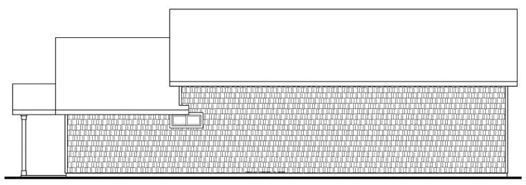 Craftsman Garage Plan 59464 Rear Elevation