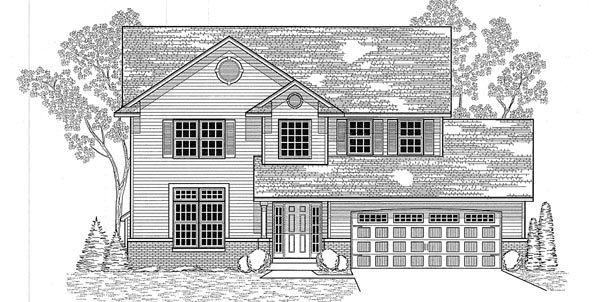 Traditional House Plan 59610 Elevation