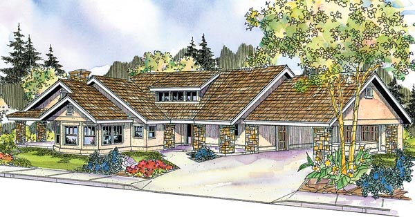Ranch House Plan 59733