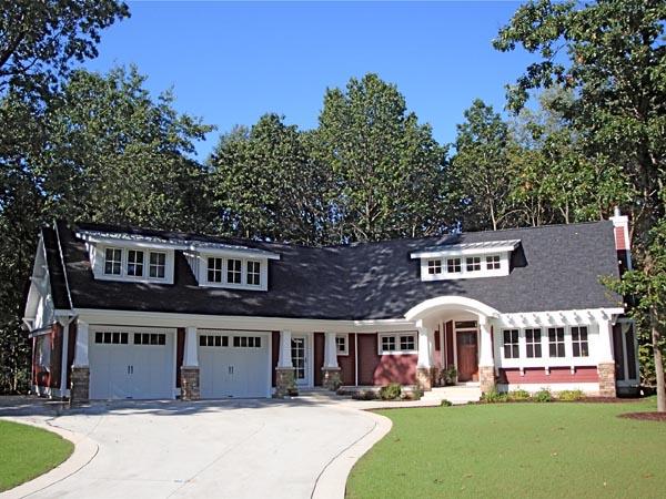 Cottage Craftsman House Plan 59900 Elevation