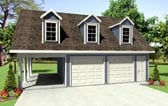 Garage Plans with Carport