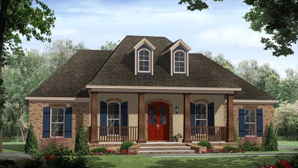 Elevation of Country   European   Italian   House Plan 59937