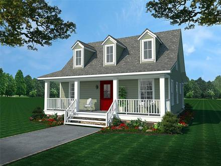 House Plan 59993