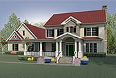 Plan Number 60022 - 2803 Square Feet