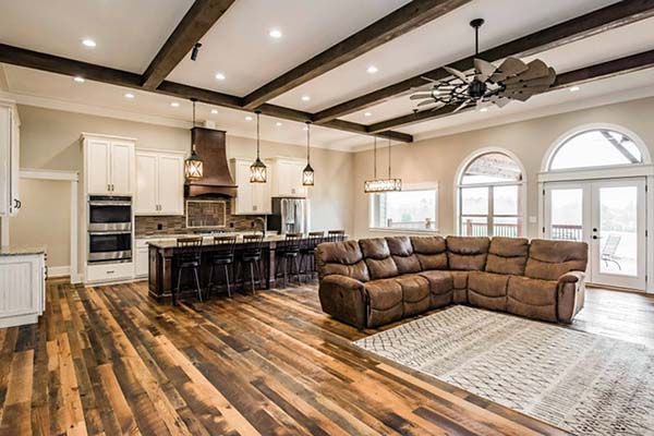 Cottage, Country, Craftsman House Plan 60028 with 4 Beds, 4 Baths, 3 Car Garage Picture 5