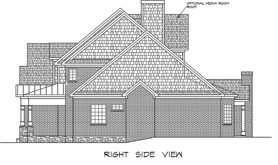 Craftsman, Traditional House Plan 60066 with 4 Beds, 5 Baths, 3 Car Garage Picture 1