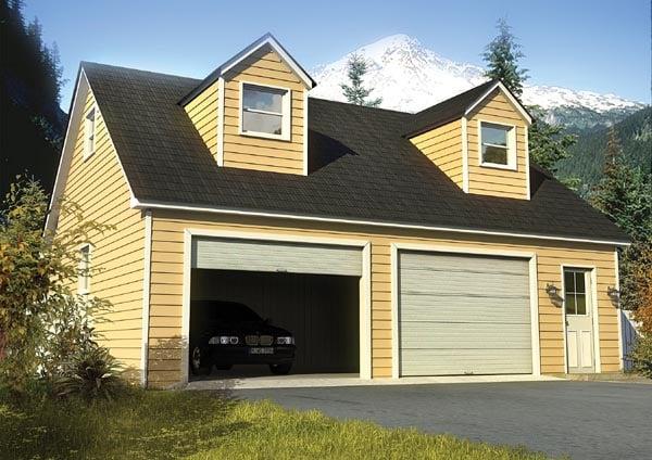 Garage plan 6010 at for Garage apartment plans menards