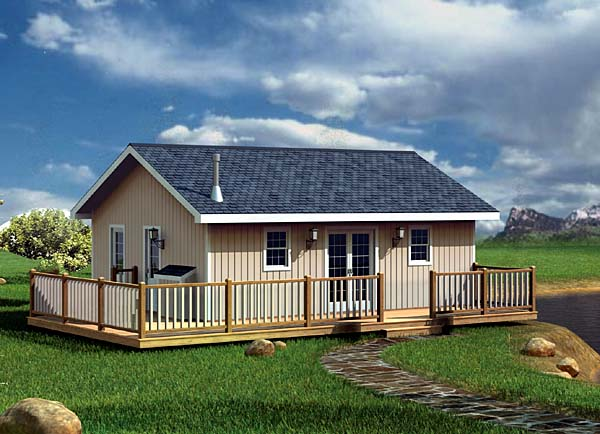 House plan 6020 at for Cheap houses to build plans