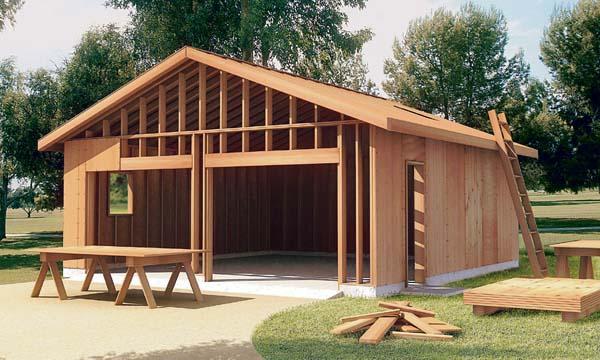 Attached Garage Plan 6022