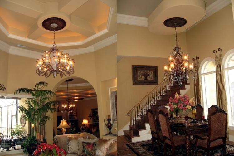 Florida, Mediterranean House Plan 60490 with 3 Beds, 3 Baths, 4 Car Garage Picture 12