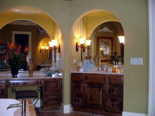 Florida, Mediterranean House Plan 60490 with 3 Beds, 3 Baths, 4 Car Garage Picture 6