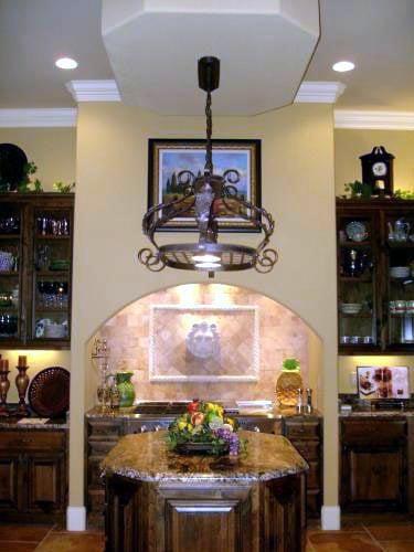 Florida, Mediterranean House Plan 60490 with 3 Beds, 3 Baths, 4 Car Garage Picture 7