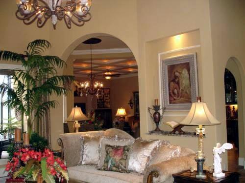 Florida, Mediterranean House Plan 60490 with 3 Beds, 3 Baths, 4 Car Garage Picture 8