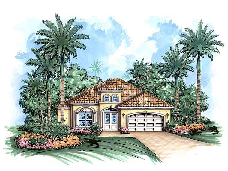 House Plan 60589 at FamilyHomePlans.com on flat house designs in florida, flat house plans, flat house in guyana, flat houses in london, flat house with garage, flat house design inside,