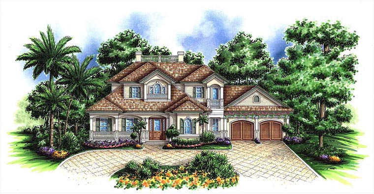 House plan 60598 at for Weber home designs