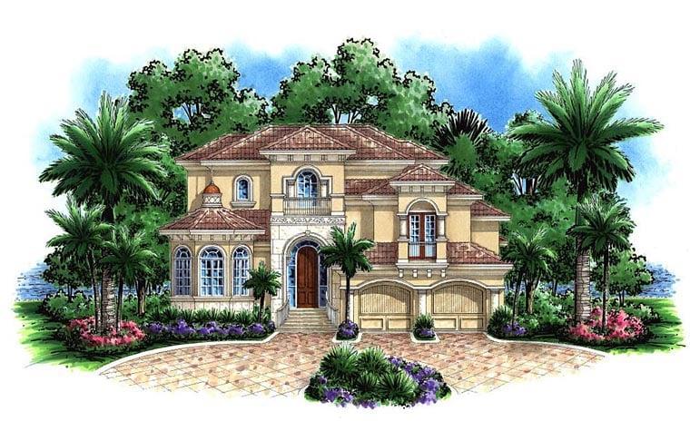 Coastal House Plan 60599 Elevation