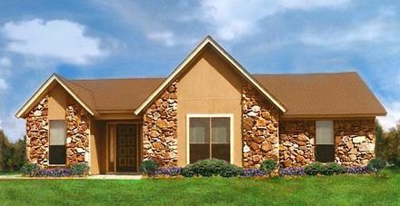 House Plan 60632