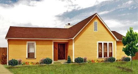 House Plan 60633