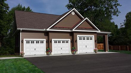 Garage Plan 60641