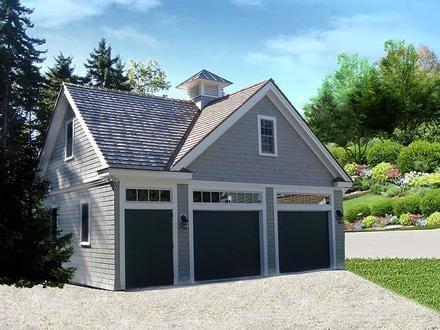 Garage Plan 60686