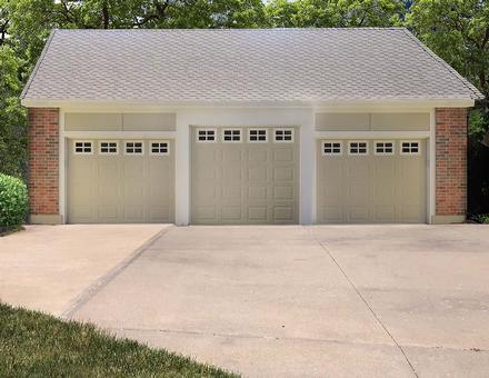Garage Plan 60697