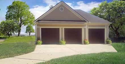 Garage Plan 60698