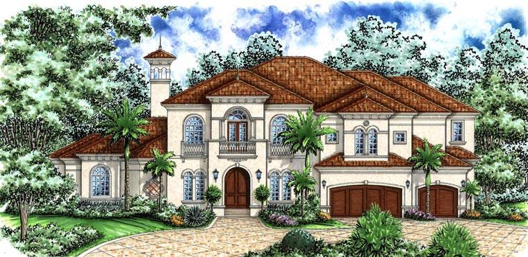 Mediterranean House Plan 60798
