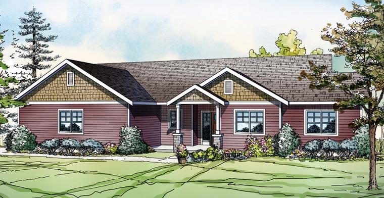 Ranch House Plan 60903