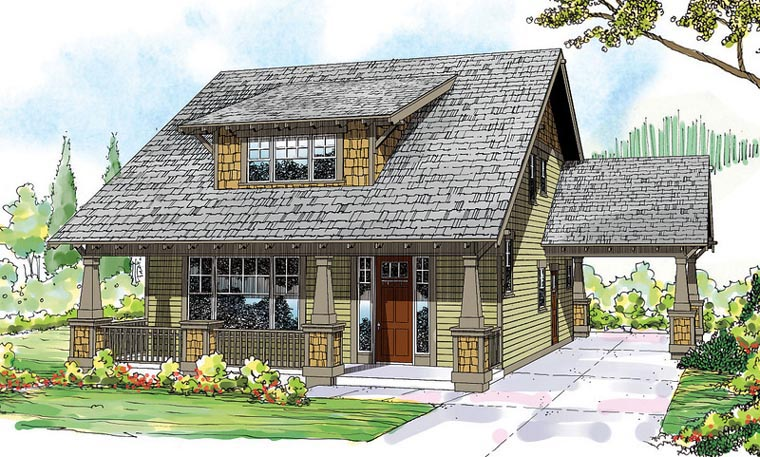 Craftsman House Plan 60911