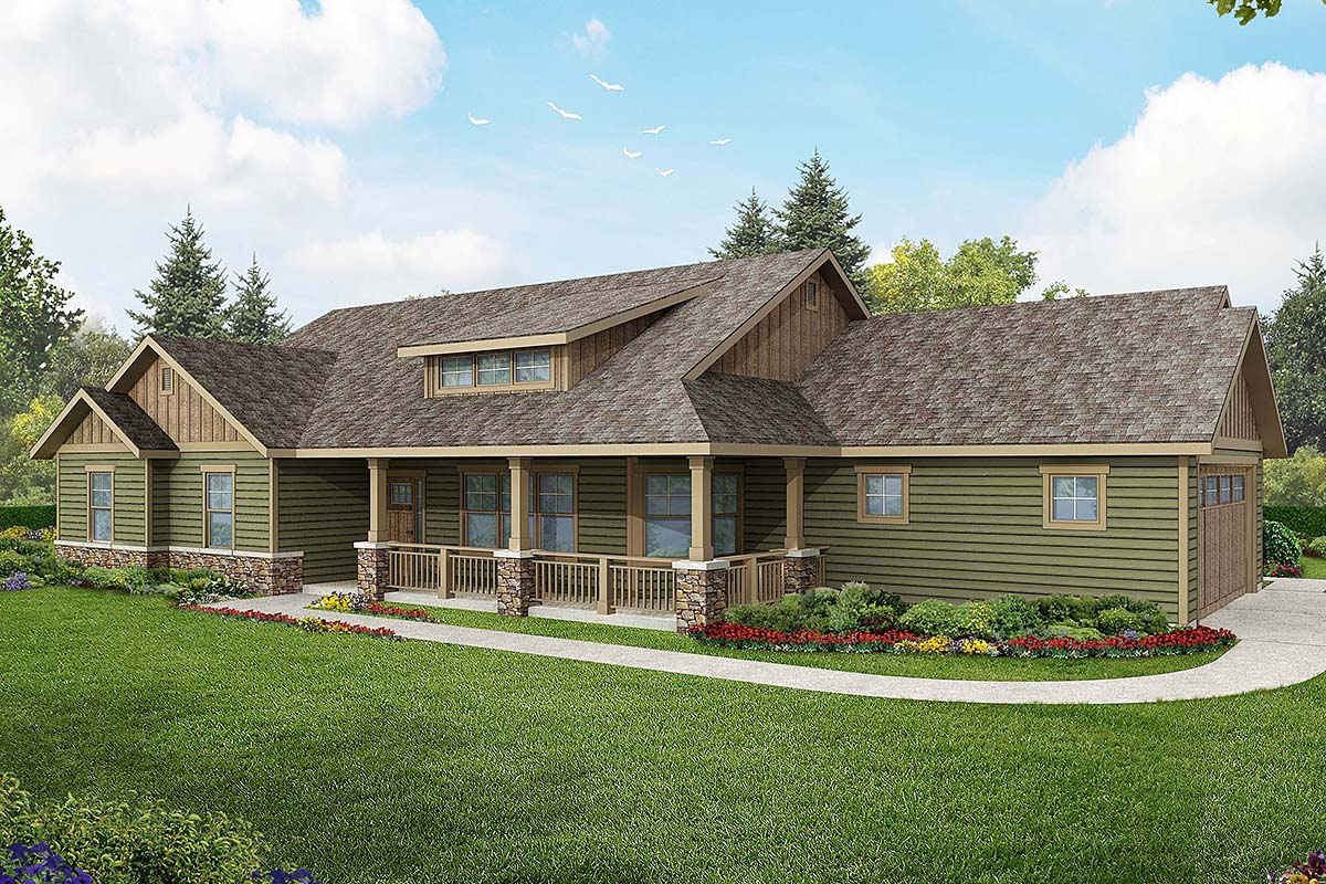 House Plan 60925 At Familyhomeplans Com