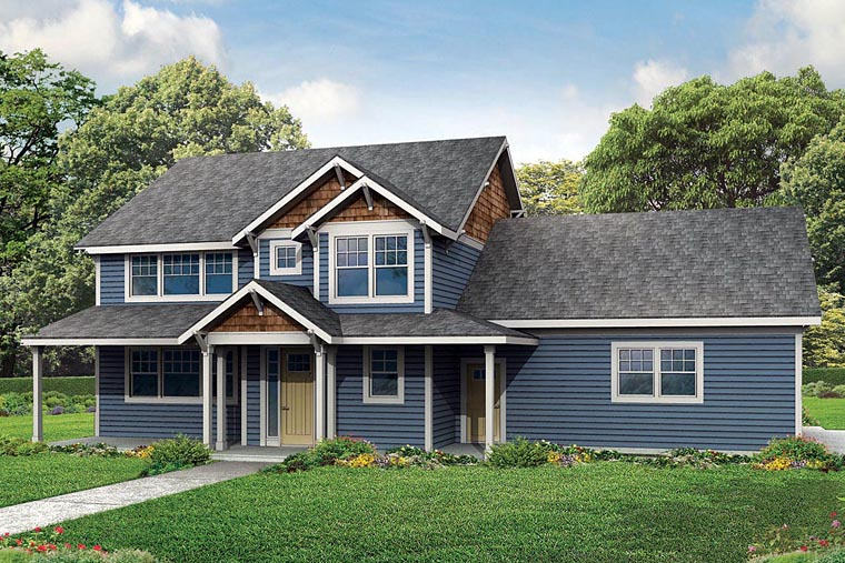 Traditional House Plan 60943