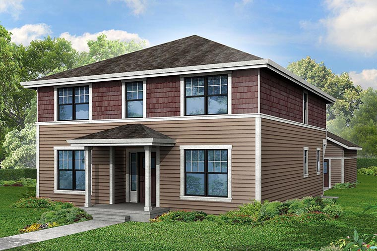 Cape Cod Cottage Country House Plan 60946 Elevation