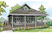 Plan Number 60953 - 1120 Square Feet