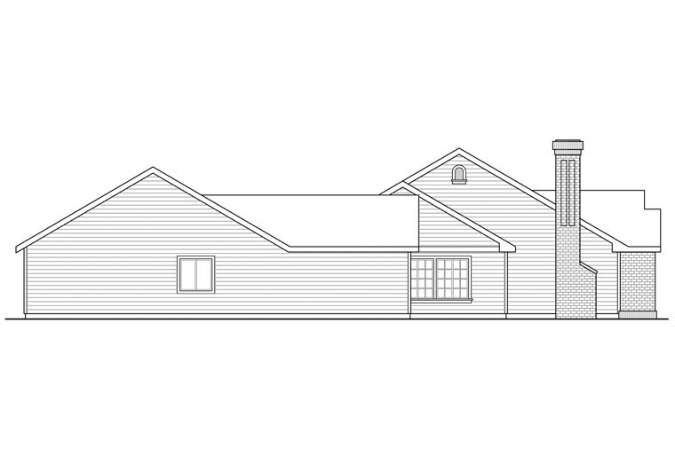 Cottage, Country, European, Traditional House Plan 60959 with 5 Beds, 3 Baths, 2 Car Garage Picture 1