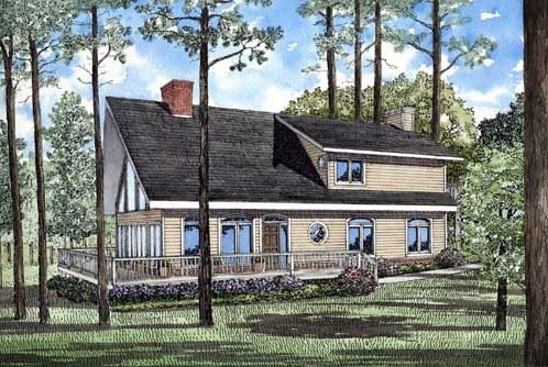 Traditional House Plan 61006 Elevation