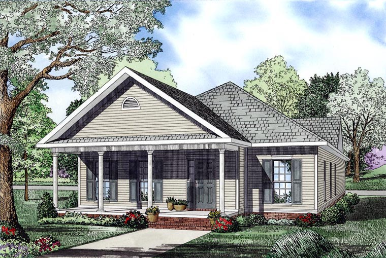 Southern House Plan 61041